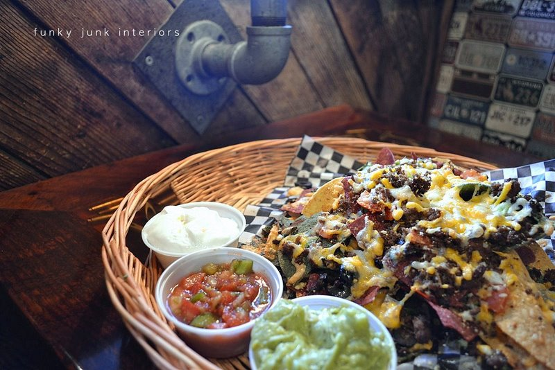 Decadent nachos at Mission Springs Brewing Company