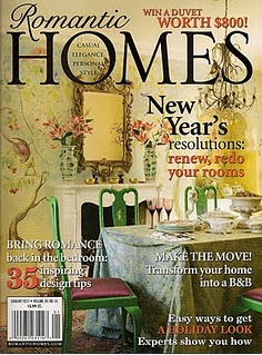 Funky Junk Interiors featured in Romantic Homes 2012