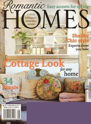 Funky Junk Interiors featured in Romantic Homes - Spring 2012