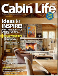 Funky Junk Interiors has been featured in Cabin Life Magazine 2013