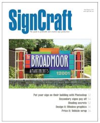 Funky Junk Interiors has been featured in Signcraft Magazine