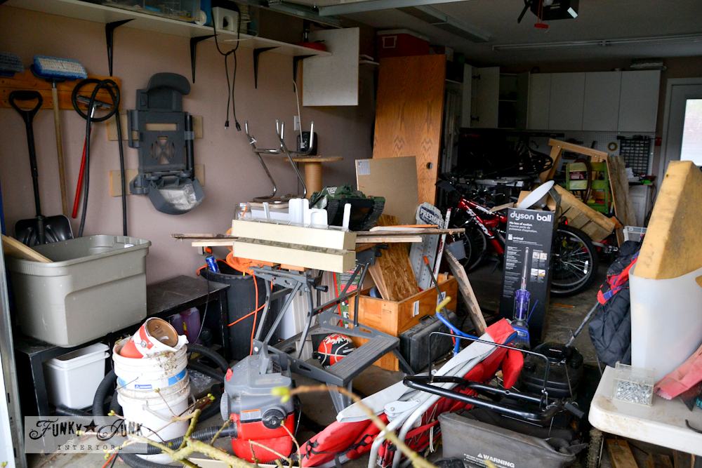 garage cleanup Funky Junk Interiors