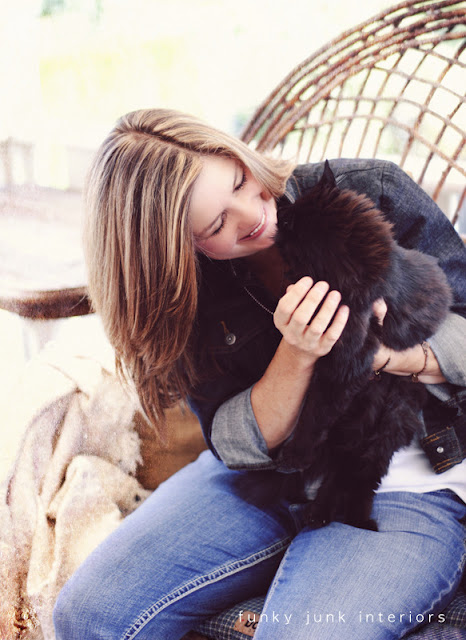 Missing Teddy - a post and video about the passing of my beloved little girl via http://www.funkyjunkinteriors.net/