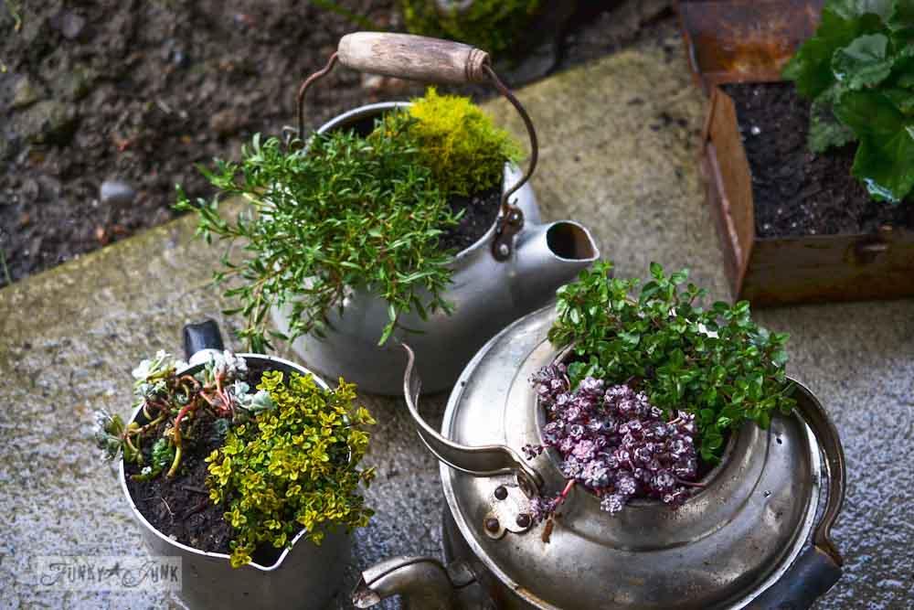 junk planters