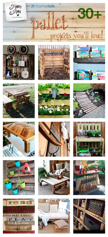 30 plus pallet projects you'll love - FunkyJunkInteriors.net
