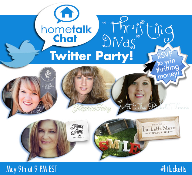 Hometalk Lucketts Twitter Chat