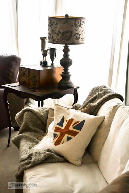 Karen - The Graphics Fairy's house - british flag pillow