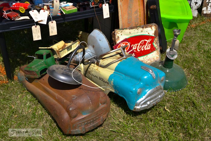 Lucketts Eve-vintage pedal cars
