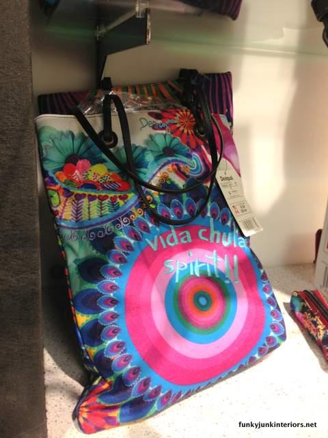 art purses at the airport