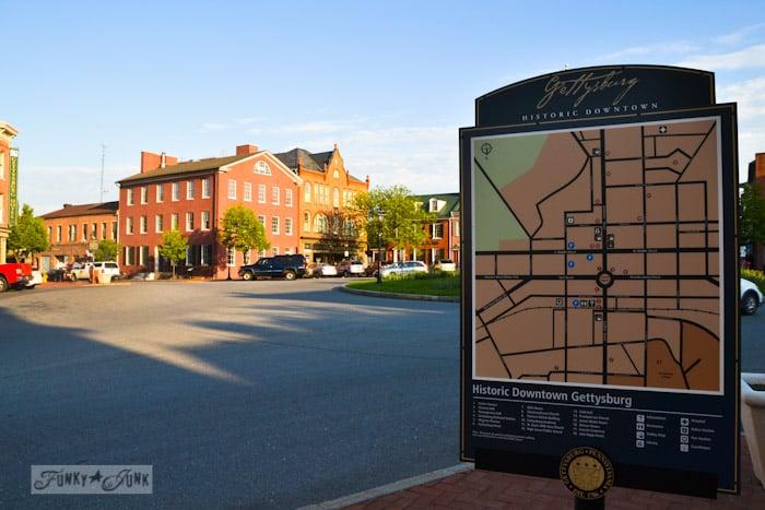 Touring historic Pennsylvania - Gettysburg battlefield