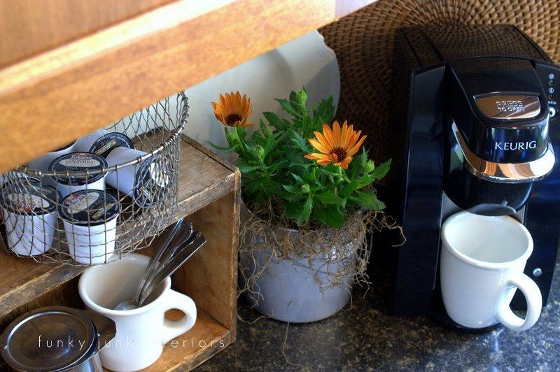 flowers in creative junk vases funky junk interiors - flowers in galvanized bucket