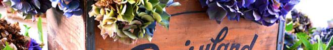 flowers in junk