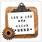 Advertise on Funky Junk 150 x 150