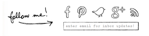 The best way to follow blogs - follow Funky Junk Interiors and look for this symbol at the bottom of each post