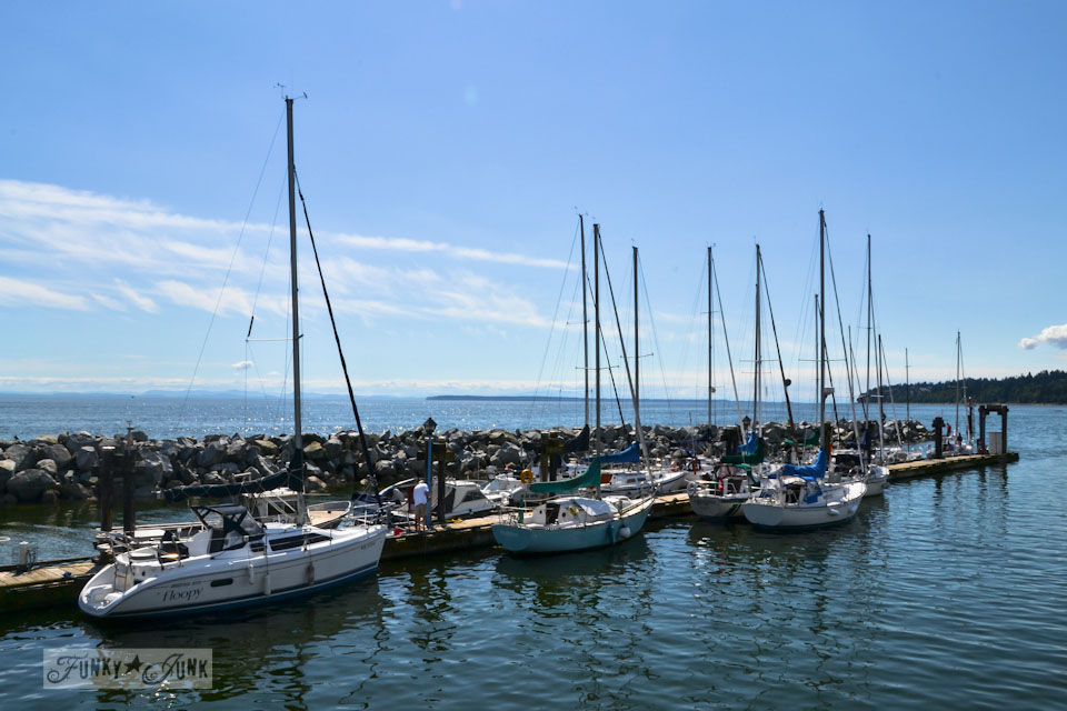Visiting White Rock, BC Canada - the dock