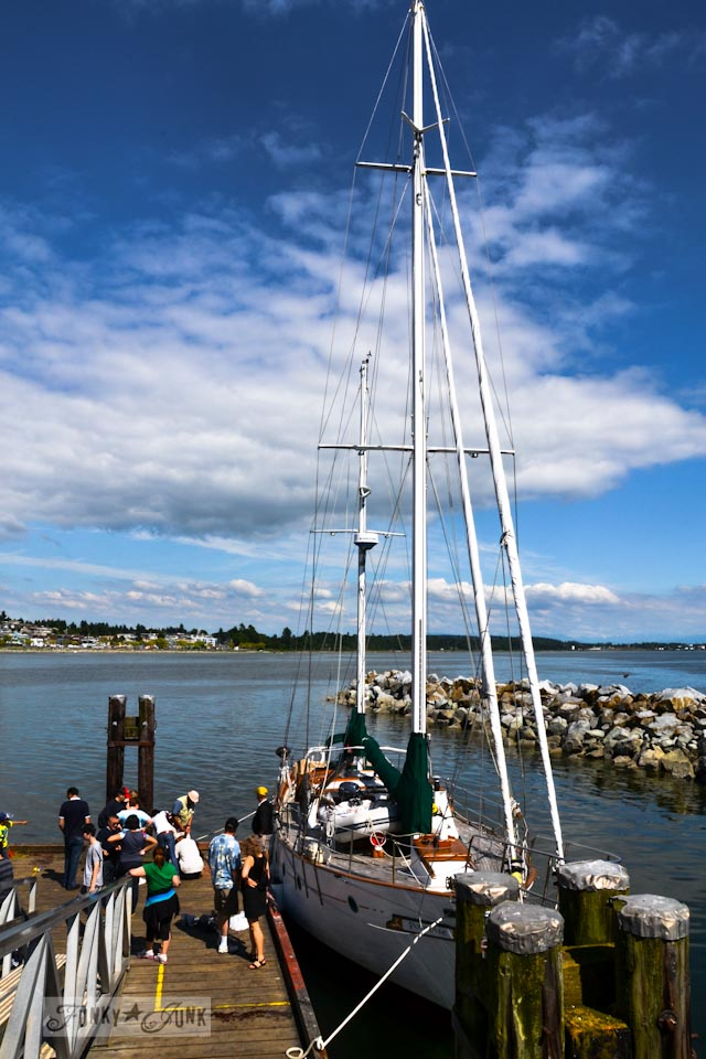 Visiting White Rock, BC Canada - the boats