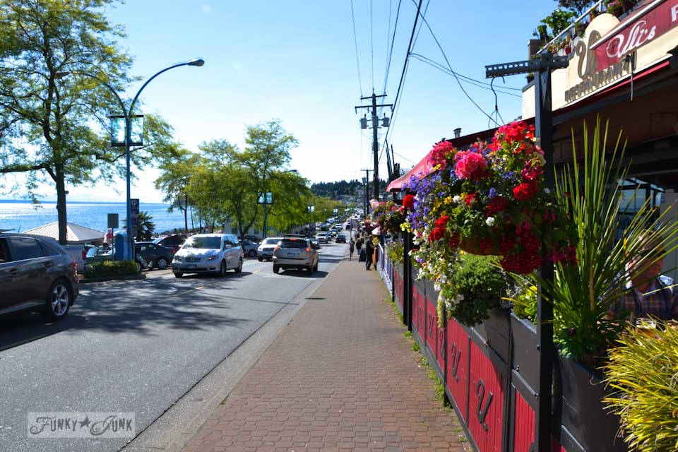 Visiting White Rock, BC Canada - the town