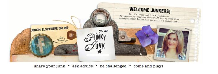 Join Your Funky Junk, a private Facebook group, where anyone can share their junk! via Funky Junk Interiors