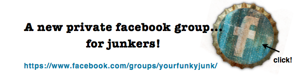Join Your Funky Junk, a facebook group for junkers! Where anyone can share their junk! via Funky Junk Interiors