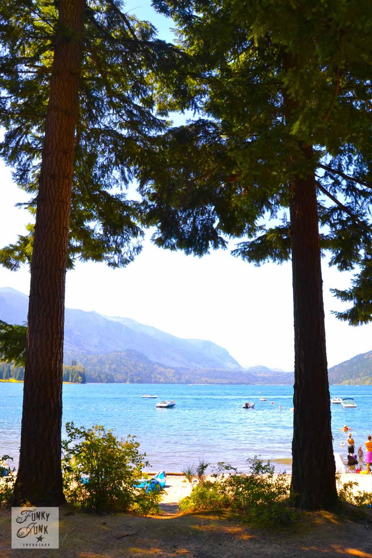 If I lived near Cultus Lake - the beach