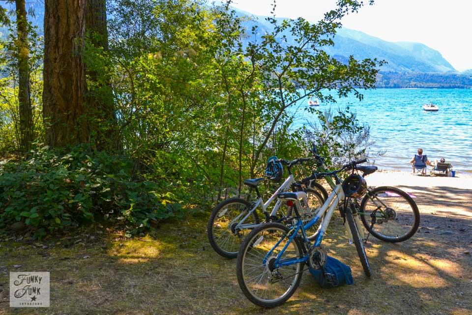 If I lived near Cultus Lake - I'd bike to the beach