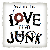 Junk styled side tables featured on I Love That Junk