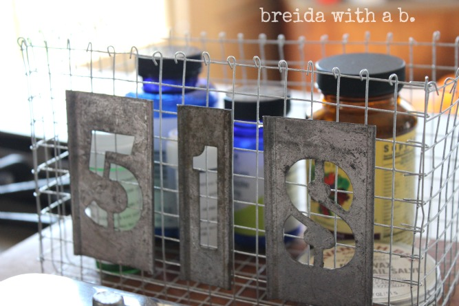 DIY industrial locker baskets, by breida with a b, featured on https://www.funkyjunkinteriors.net