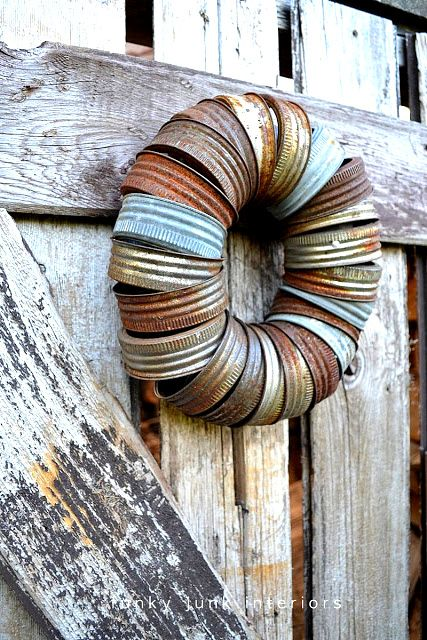 canning jar lid wreath on https://www.funkyjunkinteriors.net