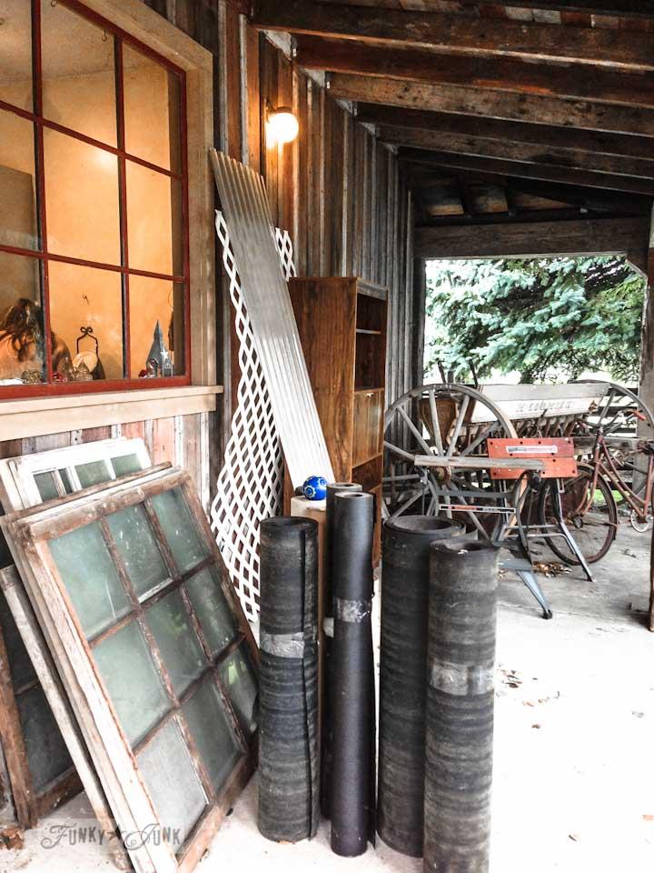 A dreamy garage sale in a dream shop