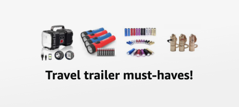 Travel trailer must-haves on Amazon! Funky Junk Interiors
