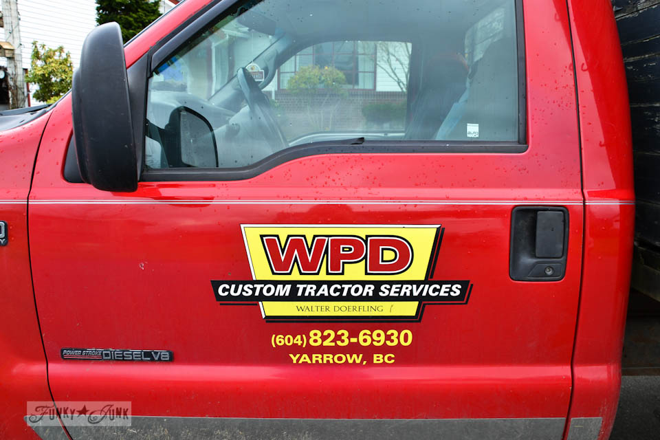 WPD Custom Tractor Services  / Way to prune those trees, yard messin' Walter! A story on pruning and appreciating what you already have. via http://www.funkyjunkinteriors.net/