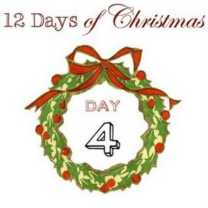 12 Days of Christmas Day 4, on http://www.funkyjunkinteriors.net/
