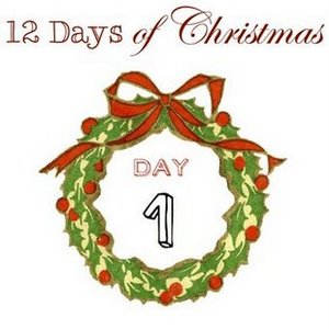 12 Days of Christmas 2013 Day 1 via Funky Junk Interiors