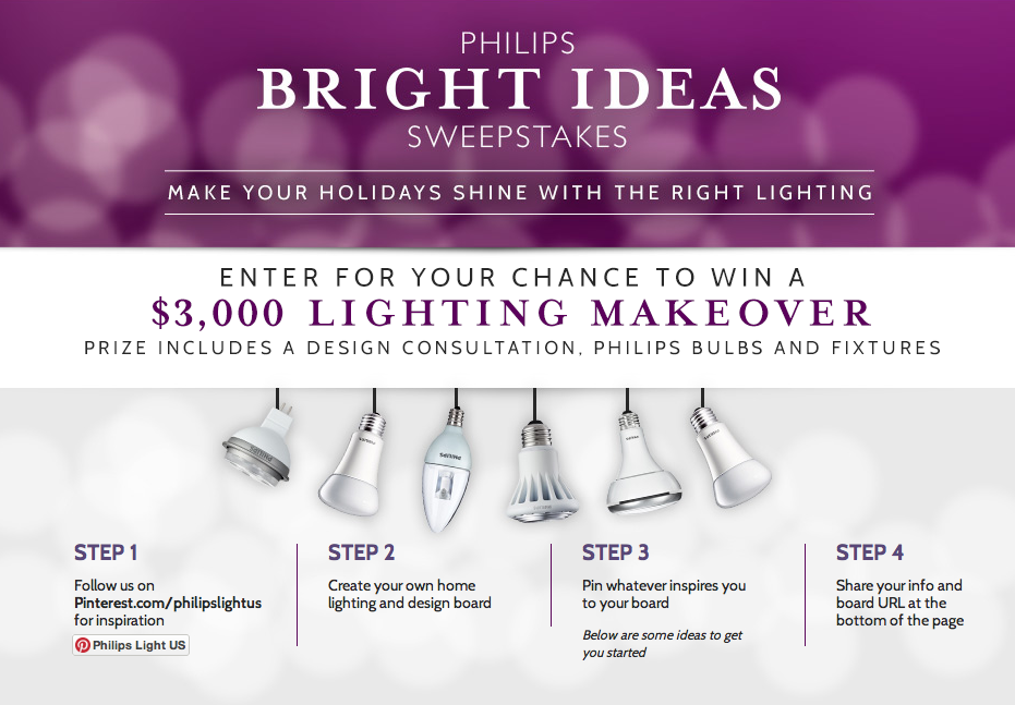 Phillips Bright Ideas Sweepstakes on http://www.funkyjunkinteriors.net
