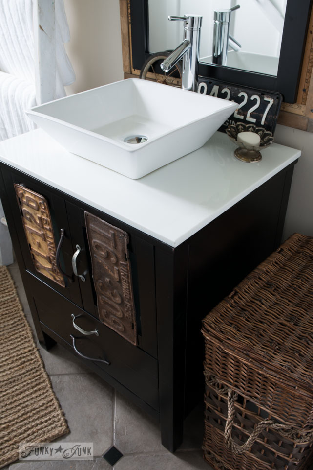 funky bathroom sinks salvaged farmhouse bathroom makeover with vintage 12938