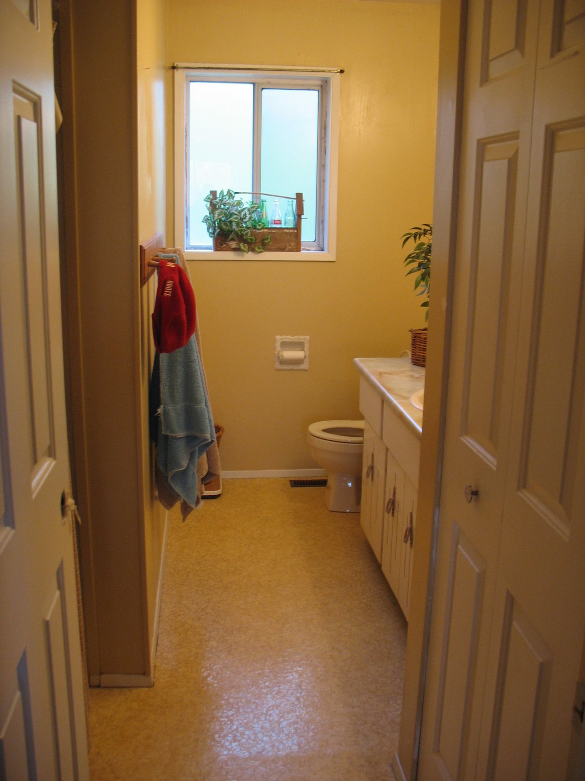 bathroom before
