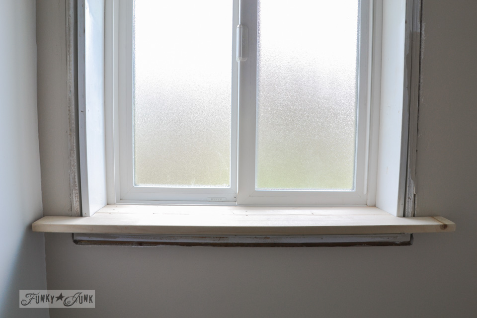 How to make a farmhouse window with mouldingfunky junk interiors - Painting window sills exterior set ...