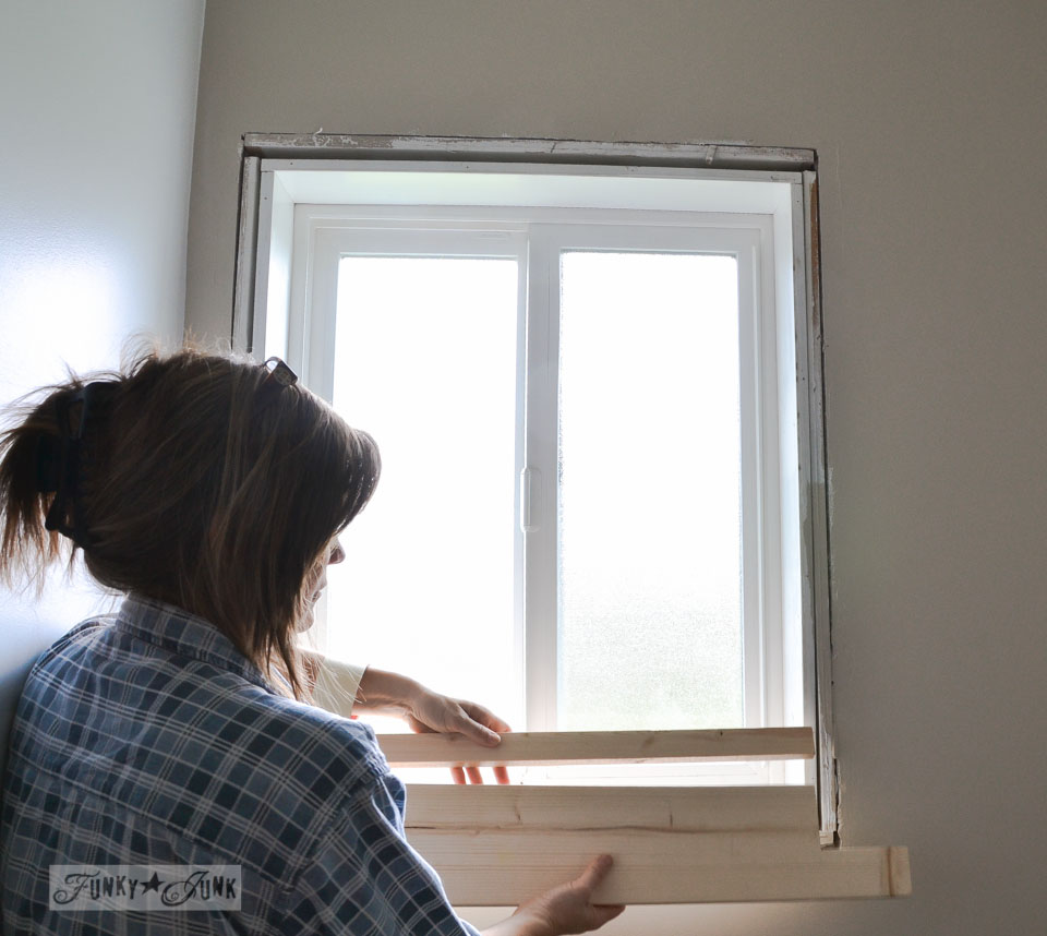 How to build a farmhouse window | funkyjunkinteriors.net