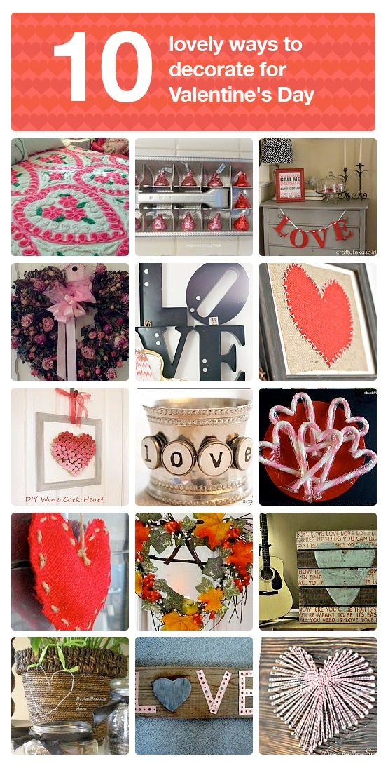 53 Inspiring ways to decorate for Valentine's Day from salvaged finds, featured on FunkyJunkInteriors.net