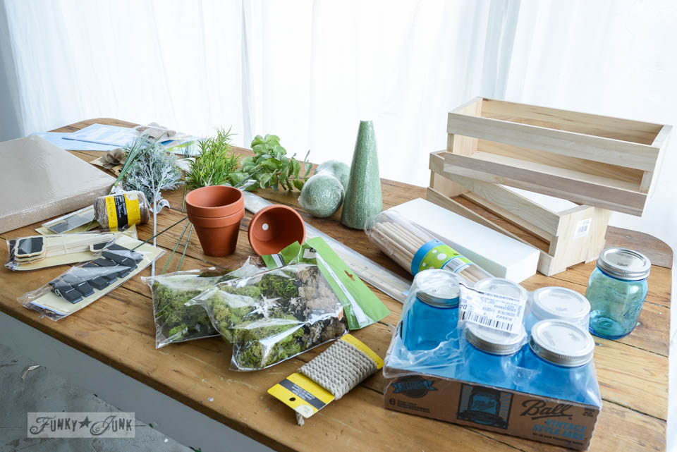 Crafting with 100 bloggers... you should go! Join the Hometalk Michaels Pinterest Party at a store near you! via https://www.funkyjunkinteriors.net/