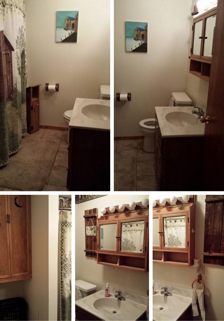 Denise's bathroom before
