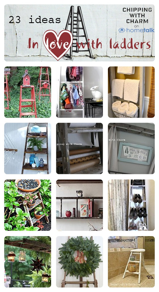 Ladders on Hometalk curated by Chipping with Charm