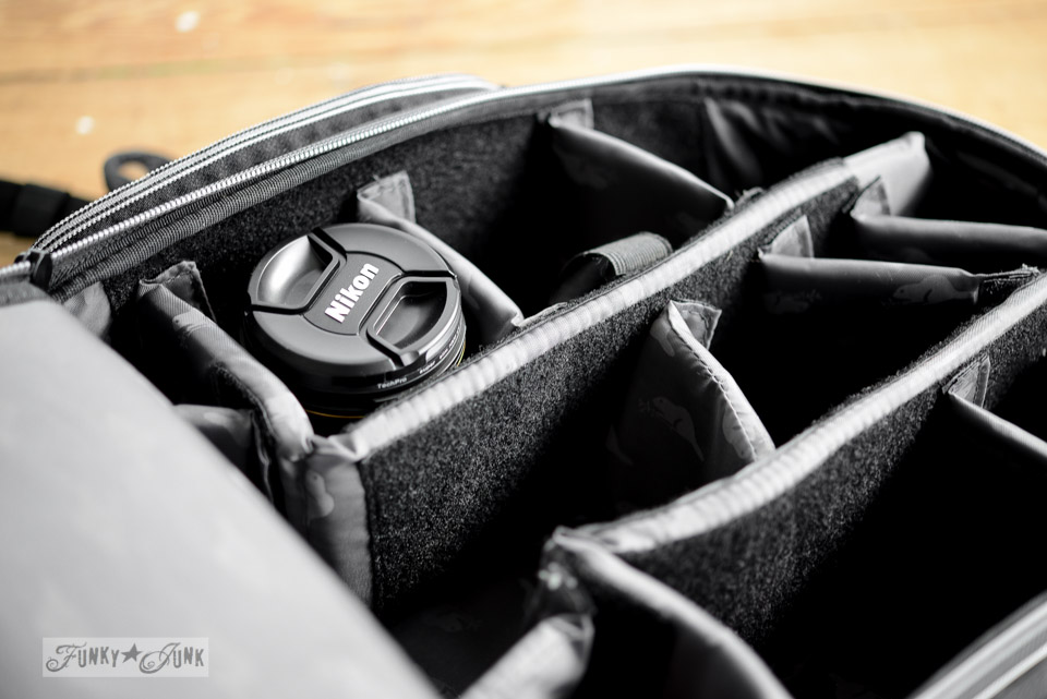Back pack styled camera bag / My new outstanding Nikon D800 full frame camera - a review on FunkyJunkInteriors.net
