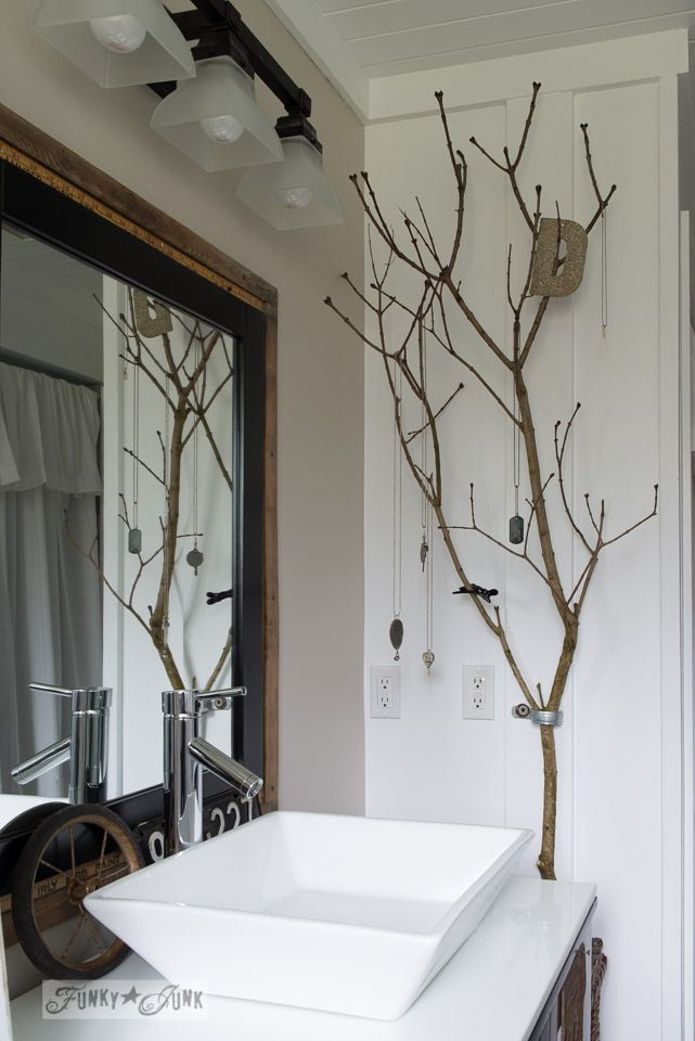 Branch jewellery holder by FunkyJunkInteriors.net