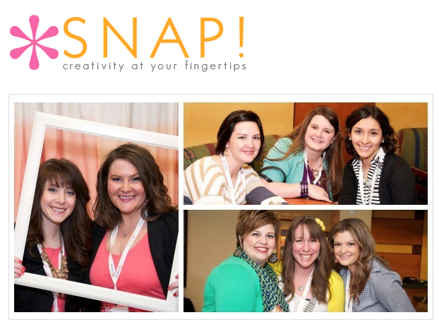 Snap blogging conference / Snap! It's time to leave for Utah! via FunkyJunkInteriors.net