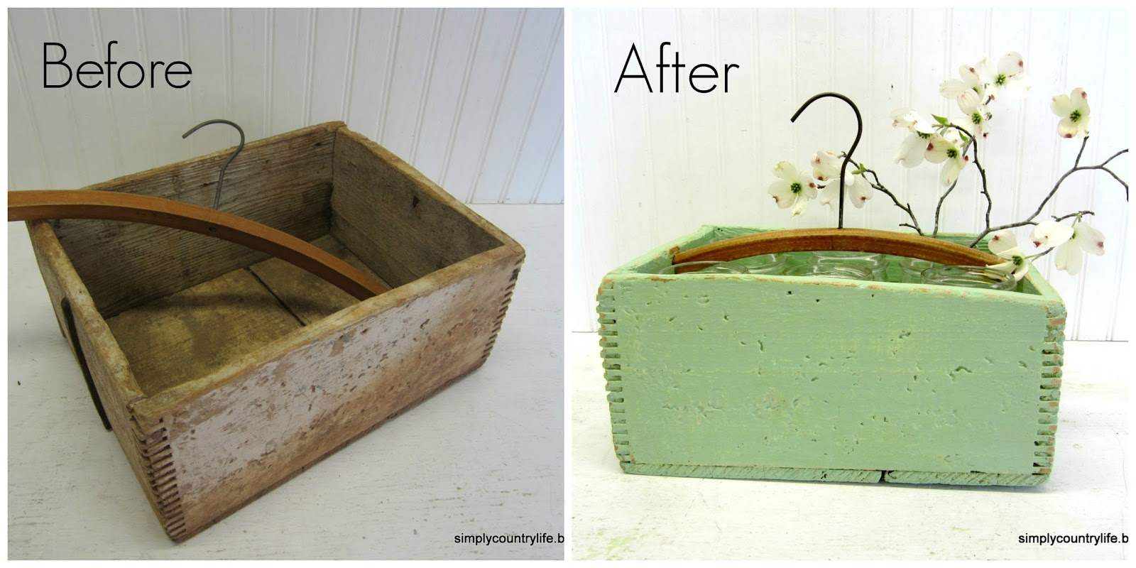 Crate hanger caddy by Simply Country Life