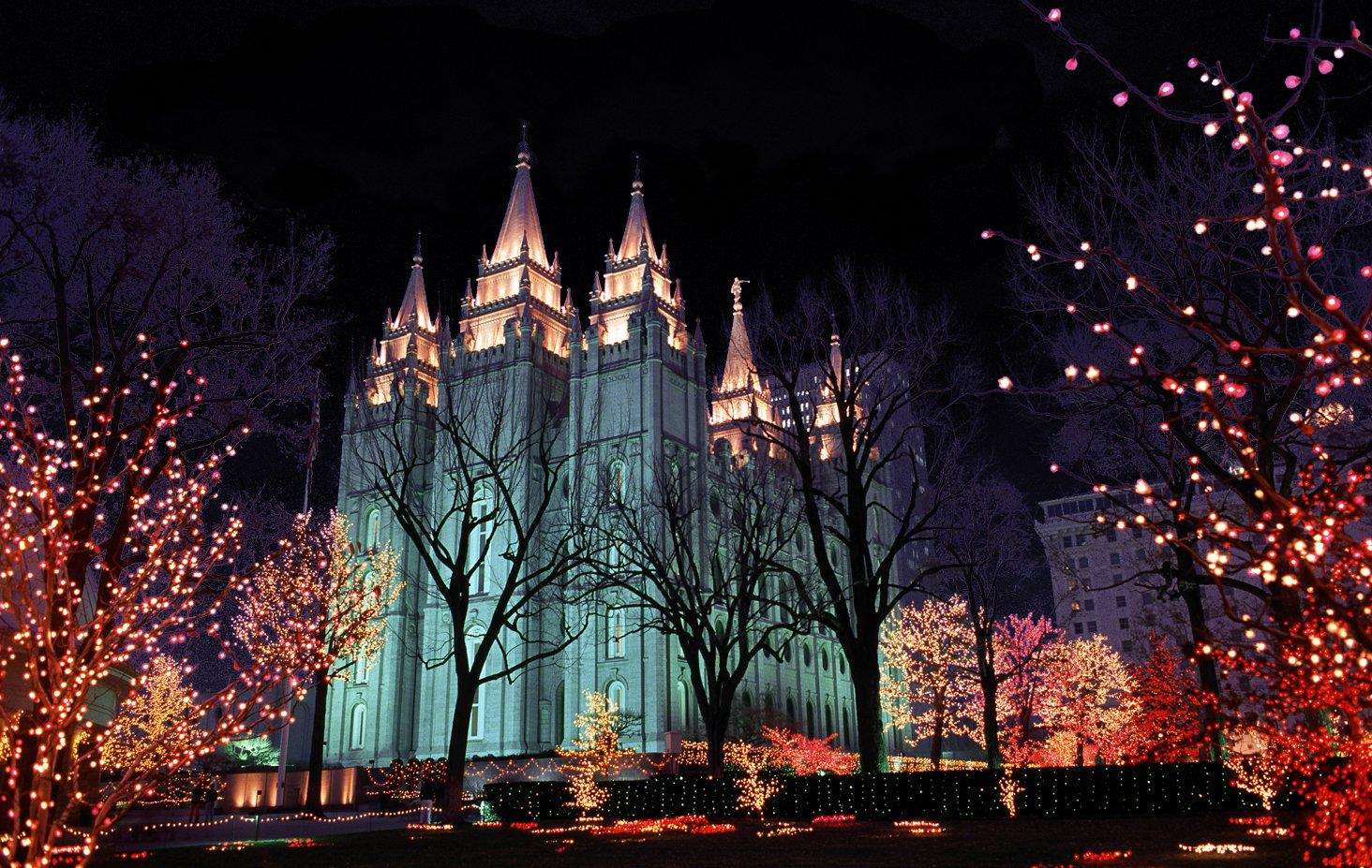 Temple Square in Salt Lake City, Utah via FunkyJunkInteriors.net