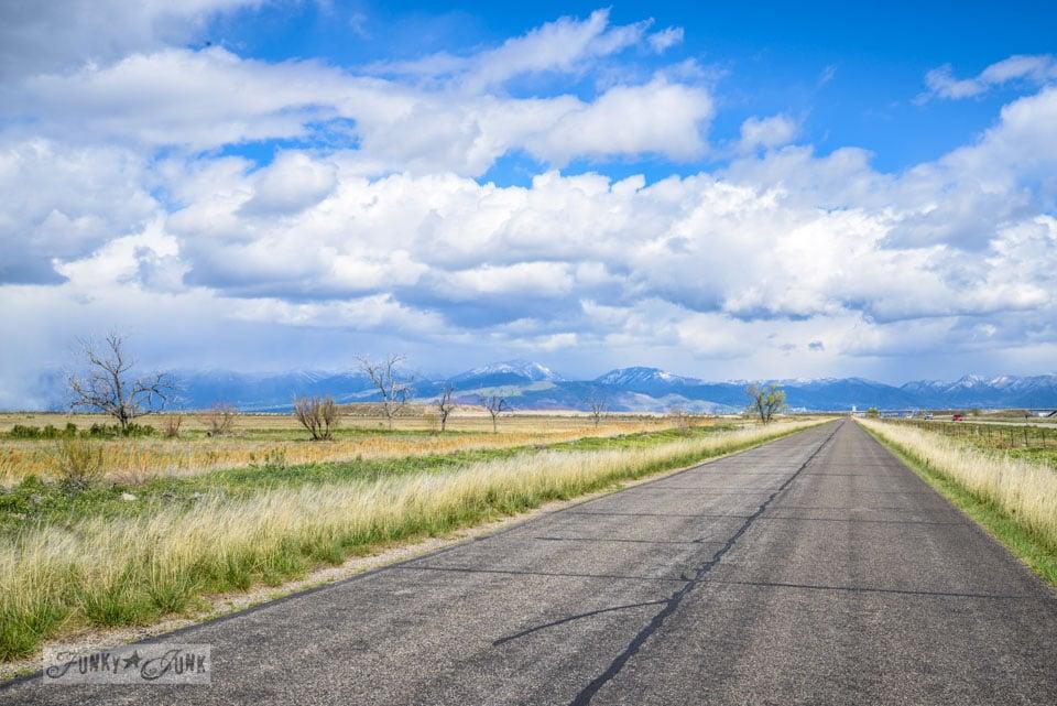 Great Salt Lake route / One gorgeous photo tour of Salt Lake City, Utah, on FunkyJunkInteriors.net