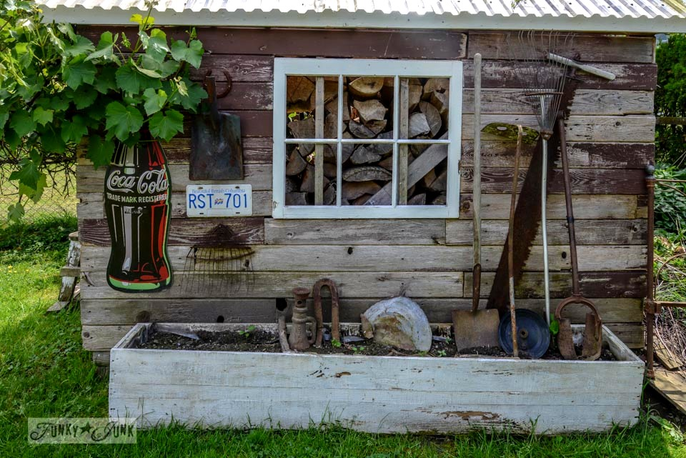 Shed before / Living with a less than Pinterest worthy yard on FunkyJunkInteriors.net