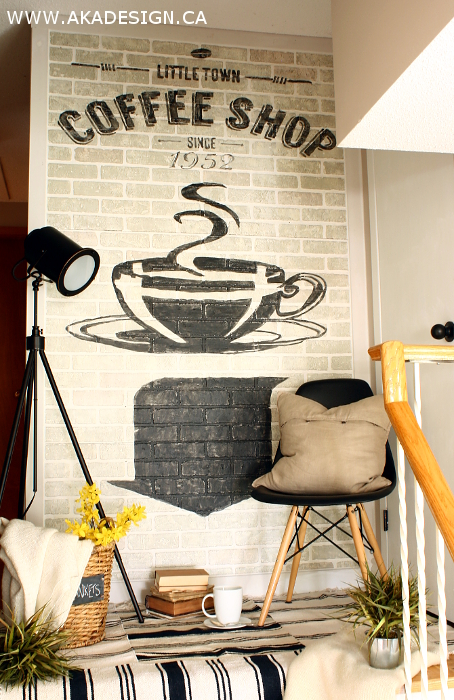 How to create old brick wall advertising by AKA Design
